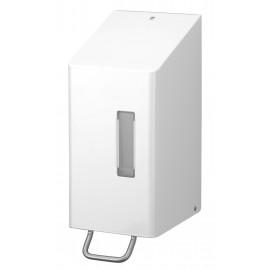 Dispenser sapun lichid / dezinfectant SanTRAL cu levier, 3000 ml, inox - OpHardt