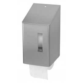 Dispenser hartie igienica rola compacta SanTRAL SRU 2 E AFP, inox - OpHardt