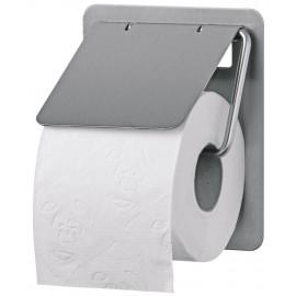 Dispenser hartie igienica rola standard SanTRAL TRU 1 E AFP, inox - OpHardt