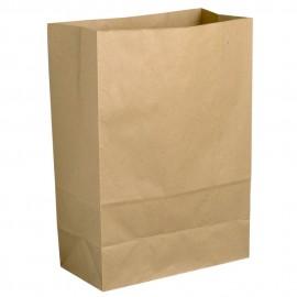Punga hartie biodegradabila pentru alimente 22 x 10 x 28 cm, 6 l - Abena