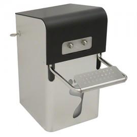 Ingo-Ped - Dispenser dezinfectare picioare, montabil 7,5 L, aluminiu - Ophardt