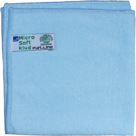 Laveta din microfibra Puri-Line Soft 32 x 32 cm, albastra - Abena