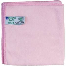 Laveta din microfibra Puri-Line Soft 32 x 32 cm, rosie - Abena