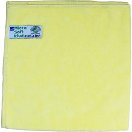 Laveta din microfibra Puri-Line Soft 40 x 40 cm, galbena - Abena