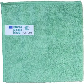 Laveta din microfibra Puri-Line Basic 32 x 32 cm, verde - Abena