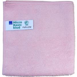 Laveta din microfibra Puri-Line Basic 32 x 32 cm, rosie - Abena