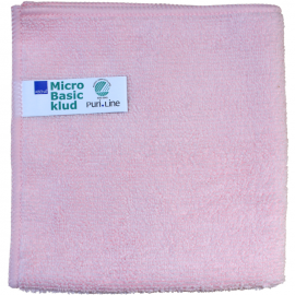Laveta din microfibra Puri-Line Basic 40 x 40 cm, rosie - Abena