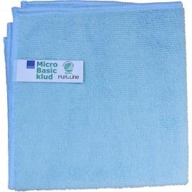 Laveta din microfibra Puri-Line Basic 32 x 32 cm, albastra - Abena