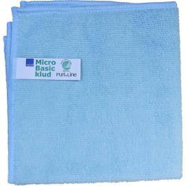 Laveta din microfibra Puri-Line Basic 40 x 40 cm, albastra - Abena