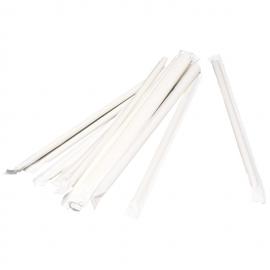 Paie flexibile ambalate individual 24 cm, alb/galben - Abena