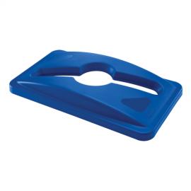 Capac deseuri mixte container Slim Jim, albastru