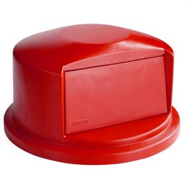 Capac (cupola) container Brute 121.1 L, rosu - Rubbermaid