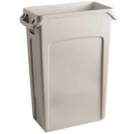 Container Slim Jim cu canale de ventilare 87 L, bej