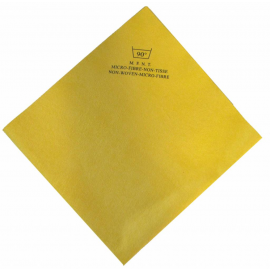Laveta Non-Woven microfibra galbena