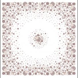 Fata de masa din airlaid 100 x 100 cm, Fireworks - Fato