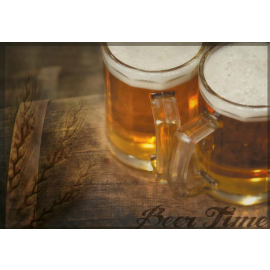 Suport farfurie (placemat) din hartie 30x40 cm, Beer Time - Fato