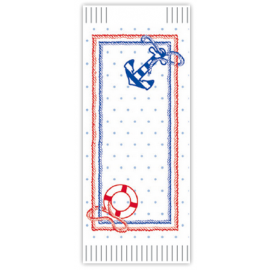 Suport tacamuri cu servetel, 38 x 38 cm, Ancora - Fato