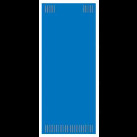 Suport tacamuri cu servetel, 38 x 38 cm, Albastru - Fato