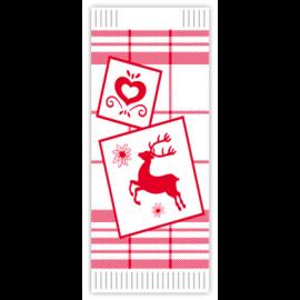 Suport tacamuri cu servetel, 38 x 38 cm, Edelweiss - Fato