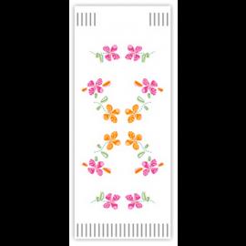 Suport tacamuri cu servetel, 38 x 38 cm, Happy Flowers - Fato