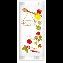 Suport tacamuri cu servetel, 38 x 38 cm, Pizza Chef - Fato