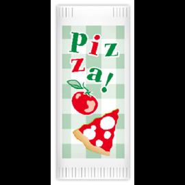 Suport tacamuri cu servetel, 38 x 38 cm, Pizza Basta - Fato