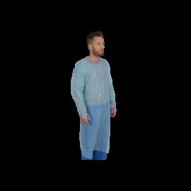 Sort protectie cu maneci 120 x 112 cm, albastru - Abena