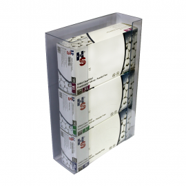 Dispenser triplu pentru cutii cu manusi unica folosinta - Polyco