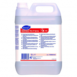Soft Care Des E Spray H5 - Dezinfectant pentru maini, pe baza de alcool, 20L