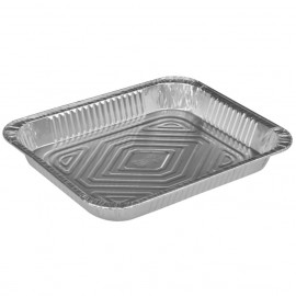 Tava rectangulara din aluminiu Gastronorm, 32.2 x 26.2 x 4.1, 2500 ml - Abena