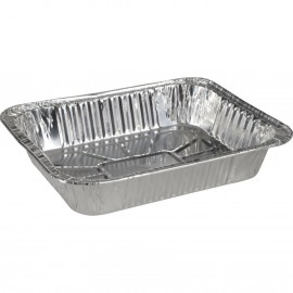 Tava rectangulara din aluminiu Gastronorm, 33 x 27 x 6.5, 3600 ml - Abena