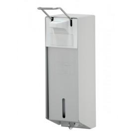 Dispenser sapun abraziv cu levier scurt 1000 ml, aluminiu - OpHardt