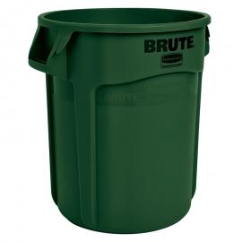 Container Brute cu canale de ventilare 121 L, verde - Rubbermaid